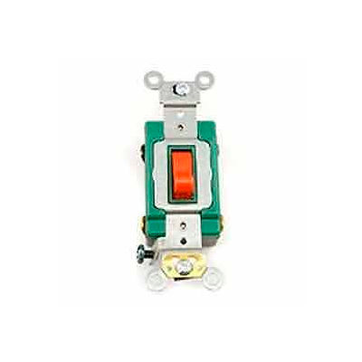 Leviton 3032-2r Double-Pole Ac Quiet Switch, Red - Min Qty 8