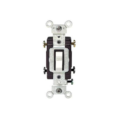 Leviton Cs220-2w 20a, 120/277v, Double-Pole, Grounding, White