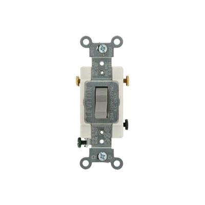 Leviton CS320-2GY 20A, 120/277V, 3-Way, Gray