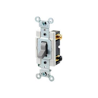 Leviton CSB3-15T 15A, 120/277V, 3-Way, Light Almond
