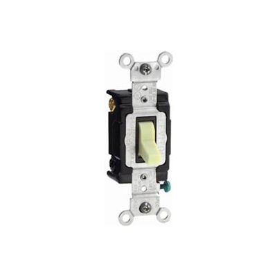 Leviton Csb4-15t 15a, 120/277v, 4-Way, Grounding, Light Almond - Min Qty 8