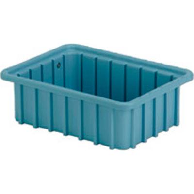 "LEWISBins Divider Box  DC1035 10-13/16"" x 8-5/16"" x 3-1/2"", Light Blue - Pkg Qty 16"