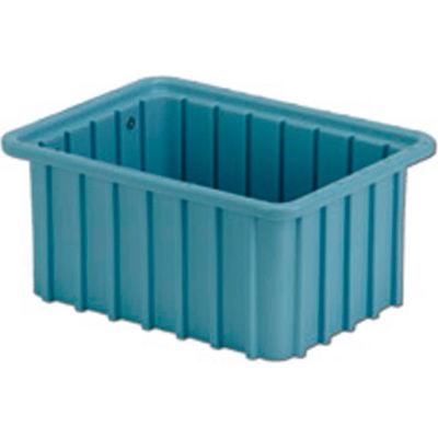 "LEWISBins Divider Box  DC1050 10-13/16"" x 8-5/16"" x 5"", Light Blue - Pkg Qty 16"