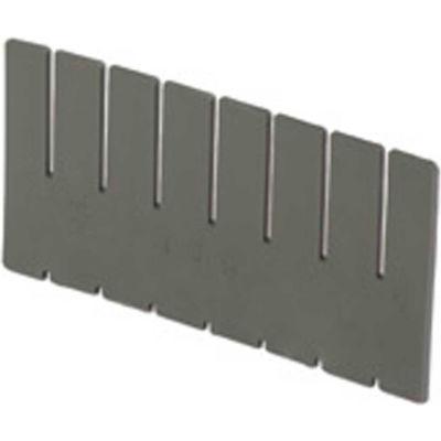 LEWISBins DV1080 Full Height Short Divider for Divider Box NDC2080 - Pkg Qty 6