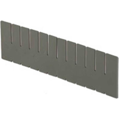 LEWISBins DV17120 Full Height Short Divider for Divider Box NDC3120 - Pkg Qty 6