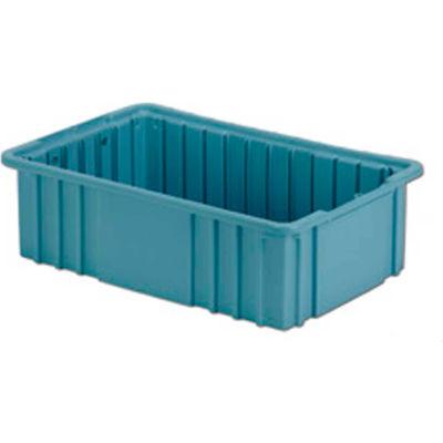 "LEWISBins Divider Box NDC2050 16-1/2"" x 10-7/8"" x 5"", Light Blue - Pkg Qty 8"
