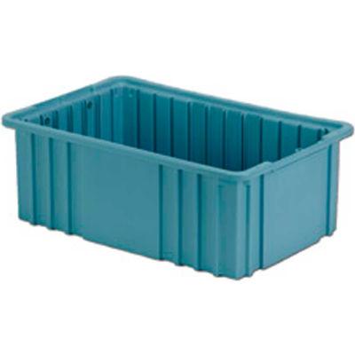 "LEWISBins Divider Box NDC2060 16-1/2"" x 10-7/8"" x 6"", Light Blue - Pkg Qty 8"