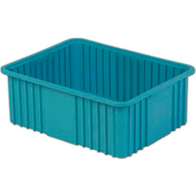 "LEWISBins Divider Box NDC3080 22-3/8"" x 17-3/8"" x 8"", Light Blue - Pkg Qty 4"