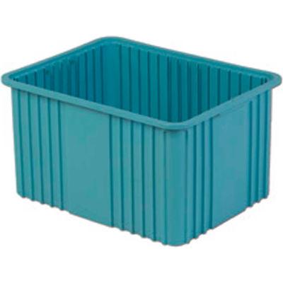 "LEWISBins Divider Box NDC3120 22-3/8"" x 17-3/8"" x 12"", Light Blue - Pkg Qty 3"