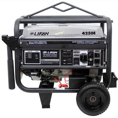 Lifan Power USA LF4250EPL-CA, 3500 Watts, Portable Generator,Gasoline,Electric/Recoil Start,120/240V