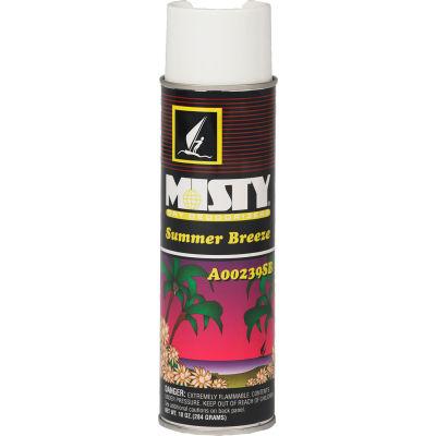 Misty Handheld Air Sanitizer/Deodorizer Summer Breeze, 10 Oz. Aerosol 12/Case - AEPA23920SB