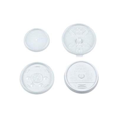 Dart® Plastic Lids, For 8 oz. Hot/Cold Foam Cups, Vented, 1000 ct