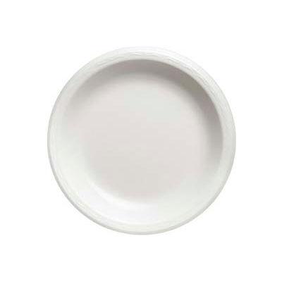 "Genpak® GNPLAM10, Elite Laminated Foam Plates, 10-1/4"" Dia., White, 500/Carton"