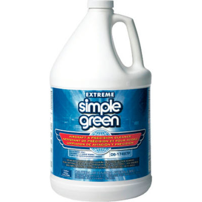 Extreme Simple Green® Aircraft & Precision Cleaner, 1 Gallon Bottle, 4 Bottles - 13406