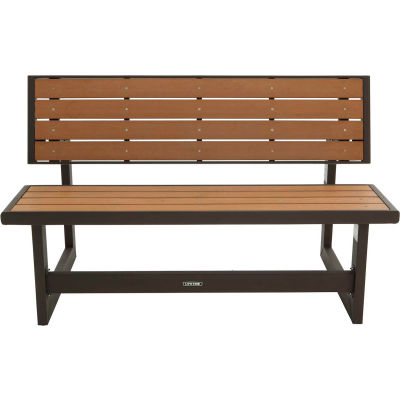 Lifetime® Simulated Wood Convertible Bench/Table, Light Brown
