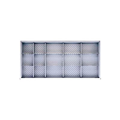 """DW Drawer Layout, 15 Compartments 5"""" H"""