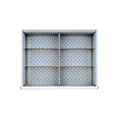 """ST Drawer Layout, 6 Compartments 11.5""""W x 5"""" H"""