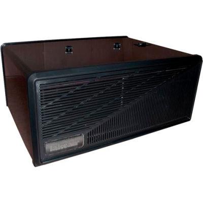 Portable Electronic Air Purifier - 110 CFM 120V - Black