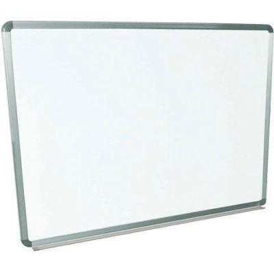 Magnetic Whiteboard - 48 x 36 - Steel Surface - Aluminum Frame