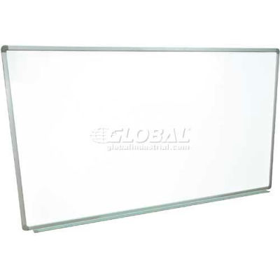 Magnetic Whiteboard - 72 x 48 - Steel Surface - Aluminum Frame