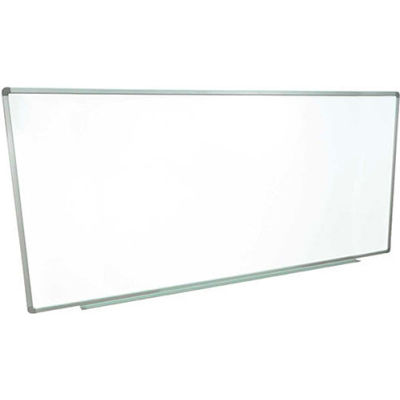 Magnetic Whiteboard - 96 x 48 - Steel Surface - Aluminum Frame