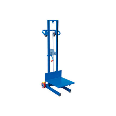 Steel Construction Lite Load Lift LLW-202058-FW - Winch Operation