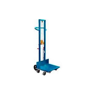 Steel Construction Lite Load Lift LLW-242060-4SFL - Winch Operation