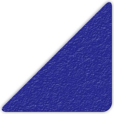 "Floor Marking Tape, Blue, 3"" Triangle, 25/Pkg., LM180B"