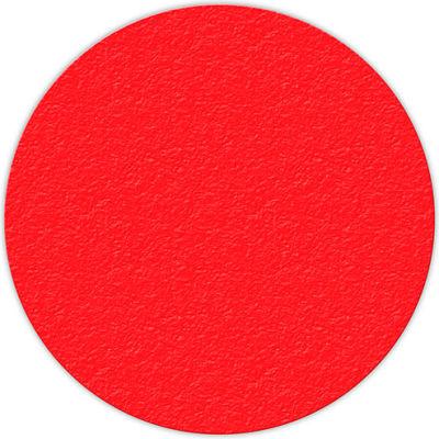 "Floor Marking Tape, Red, 6"" Circle, 25/Pkg., LM190R"