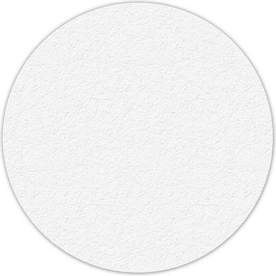 "Floor Marking Tape, White, 6"" Circle, 25/Pkg., LM190W"