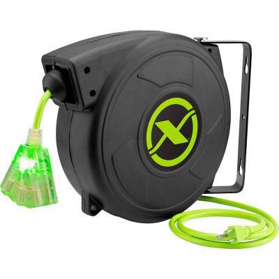 Flexzilla Zillareel™ 50' 14-3 AWG Electrical Cord Reel Retractable Spring Driven