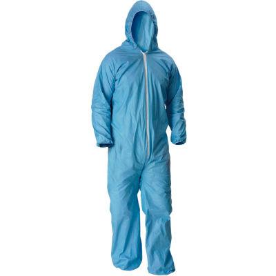 Lakeland 07428B Pyrolon® Plus 2 Disposable FR Coverall XL, Hood, Elastic Wrists/Ankles, 25/Case