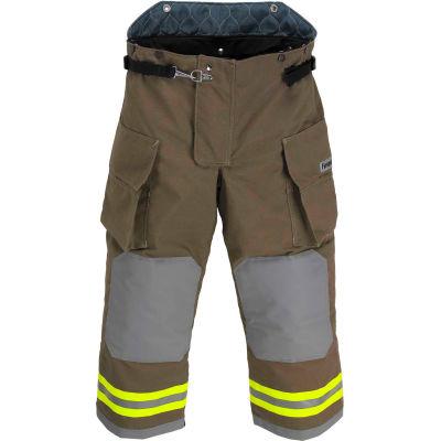 "Lakeland BA3307K OSX B1™ Battalion Fire Protective Turnout Gear Pants 40""-30"", Khaki"