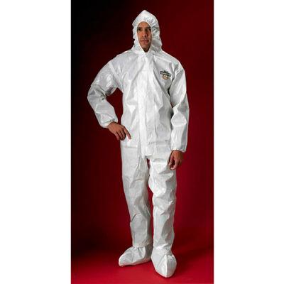 Lakeland C72150 ChemMax® 2 Protective Garment, 4XL, Hood, Elastic Face/Wrists/Boots, 6/Case
