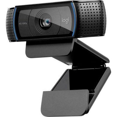 Logitech C920 HD Pro Webcam, Full HD 1080p Video Calls with Stereo Audio