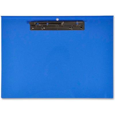 "Lion® Recycled Plastic Clipboard, 11"" x 17"", Landscape, Blue"