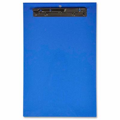 "Lion® Recycled Plastic Clipboard, 11"" x 17"", Portrait, Blue"