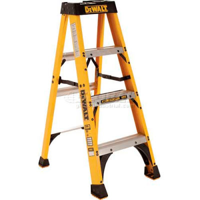 DeWalt 4' Type 1A Fiberglass Step Ladder - DXL3010-04