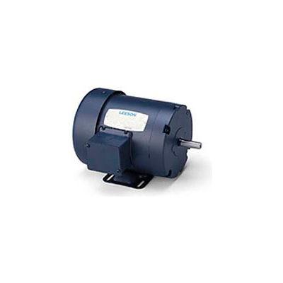 Leeson 101079.00, 0.33 HP, 1725 RPM, 208-230/460V, S56, TEFC, Rigid