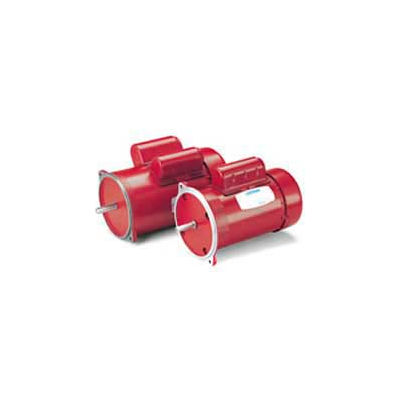 Leeson Motors Single Phase Farm Ag Motor 1/2HP, 1425RPM, 48, TEFC, 110/220V, 1/20HZ, Manual