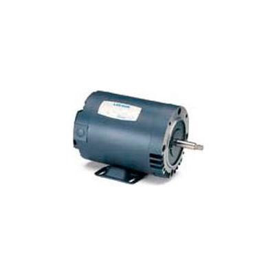 Leeson Motors 3-Phase Pump Motor 1/2HP, 3450RPM, 48, DP, 208-230/460V, 60HZ, 40C, 1, 25SF, C Face