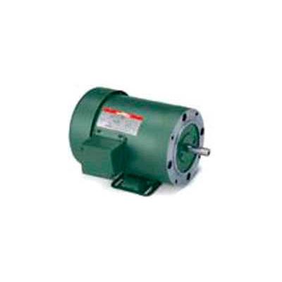 Leeson 102792.00, 0.17 HP, 1725 RPM, 115/230V, 48C, TEFC, C-Face Rigid