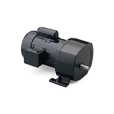 Leeson 107007.00, 1/3 HP, 288 RPM, 115/208-230V, 1-Phase, TEFC, P1100, 6:1 Ratio, 70 In-Lbs