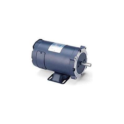 Leeson Motors DC Motor-1/3HP, 24V, 1800RPM, TENV, Rigid C