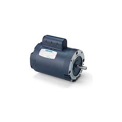 Leeson Motors Single Phase Pump Motor 2HP, 3450RPM, 56, TEFC, 115/208-230V, 60HZ, Auto, 40C, 1SF