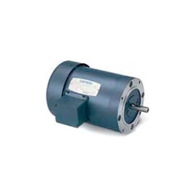 Leeson 114893.00, 0.75 HP, 2850 RPM, 220/380/440V, 50 Hz, 56C, IP54, C-Face Footless
