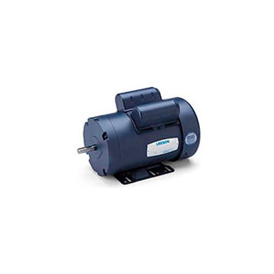 Leeson Motors-2HP, 115/208-230V, 3450RPM, TEFC, Rigid Mt, 1.0 SF, 73 Eff