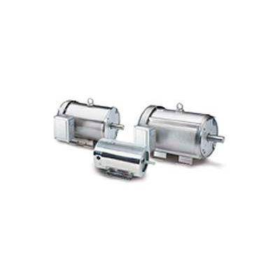 Leeson Motors 3-Phase Washguard Duty Motor 3/2HP, 3490/2890RPM, 145, TEFC, 208 230/460V, 60/50HZ