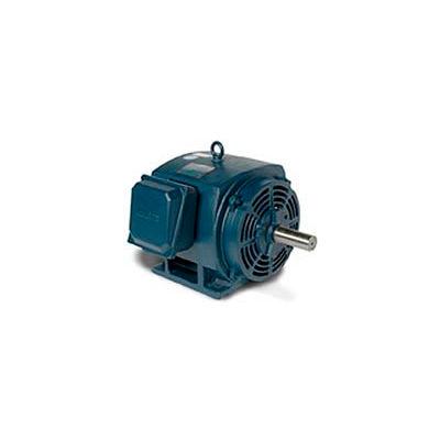Leeson 140472.00, Premium Eff., 10 HP, 1765 RPM, 208-230/460V, 215T, DP, Rigid