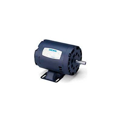 Leeson GT0011A, Premium Eff., 3 HP, 1200 RPM, 208-230/460V, 213T, ODP, Rigid